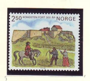 Norway Sc 860 1985 Kongsten Fort stamp mint NH
