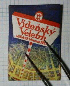 Vienna Fair Brezna Serbia 1929 Exposition Poster Stamps Ads