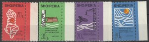 Albania  953-6  MNH  UNESCO Hydro Survey 1974