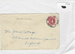 Nigeria 1948 stamps cover Ref 8718