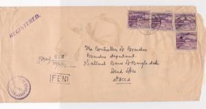 Bangladesh Overprints on Pakistan Stamps Cover ref R17590