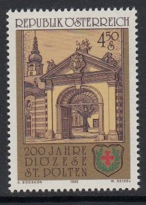 Austria 1314 St Polten Diocese mnh