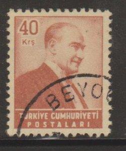 Turkey Sc#1203 Used