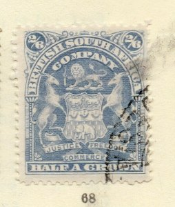 Rhodesia 1900s Early Issue Fine Used 2S.6d. NW-170442