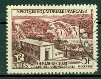 French Equatorial Africa - Scott 189