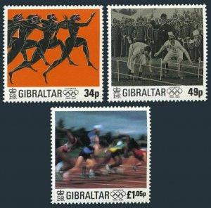 Gibraltar 711-713,MNH.Michel Modern Olympic Games,centenary,1996.Athletes.