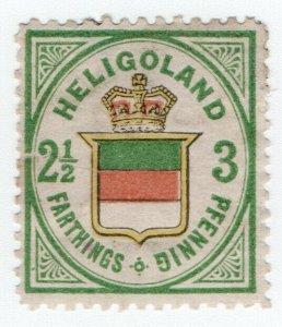 (I.B) Heligoland Postal : Definitive Head 3pf