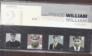 2003 PRINCE WILLIAMS 21ST PRESENTATION PACK. No. 348