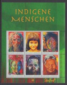 UN Geneva 520 Souvenir Sheet MNH VF