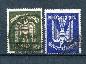 Germany #C12, C19  Used F-VF- Lakeshore Philatelics