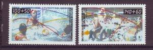 J24996 JLstamps 1990 germany berlin set mnh #9nb277-8 sports