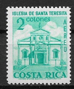 1967 Costa Rica C468 Church of St Teresita MVLH