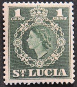 DYNAMITE Stamps: St. Lucia Scott #157 – MINT