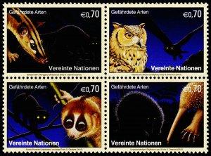 United Nations - Vienna Scott 537a (2013) Endangered Species, Mint NH VF C