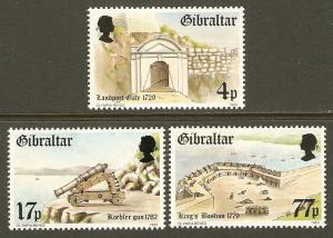 Gibraltar #453-5 NH Fortresses