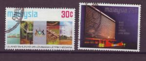 J17844 JLstamps 1974 malaya set used #118-9 designs