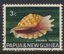 Papua New Guinea SG 138  SC# 266  Used Sea shells  see details