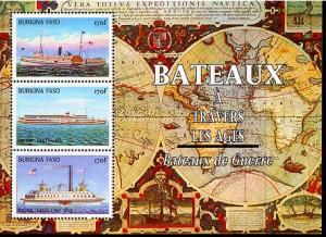 BURKINA FASO SHEET SHIPS