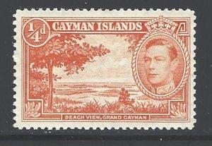 Cayman Islands Sc # 100 mint hinged (DT)
