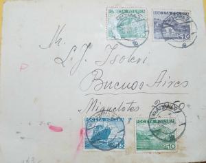 O) 1953 POLAND, MORSKIE OKO GR 10 GEEEN,  PIENINY CZORSZTYN GR 20 BLUE, MOUNTAIN