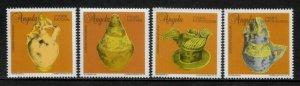 Angola #930-3 MNH Set - Traditional Ceramics