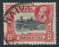Kenya Uganda Tanganyika KUT - Used  - SG 113 SC#49 - see details