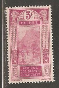 French Guinea  SC  102  Mint Never Hinged