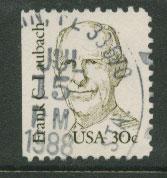 USA SG 1831 FU left margin imperf