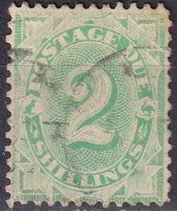 Australia #J19  F-VF Used  CV $32.00  (A18974)