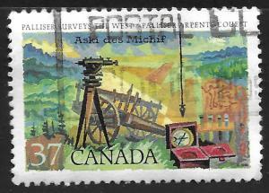 Canada #1202 37c Exploration of Canada - John Palliser