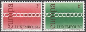 Luxembourg #500-01  MNH F-VF  (S359)