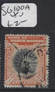 NORTH BORNEO (P1010B)  BIRD 5C  SG 100A   VFU