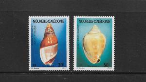 SHELLS - NEW CALEDONIA #C239-40   MNH