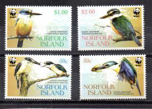 Norfolk Island 832-835 MNH