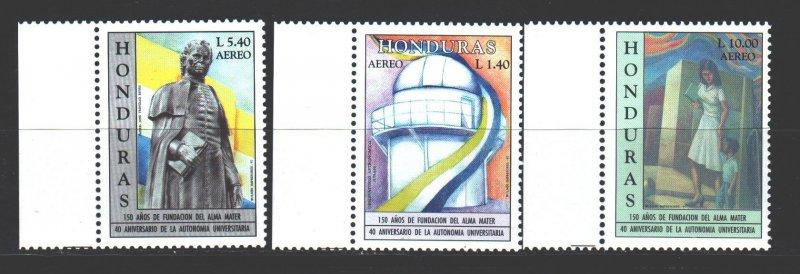 Honduras. 1997. 1345-47. University Anniversaries. MNH.
