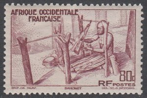 French West Africa 41 MH CV $0.80
