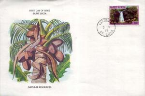 Saint Lucia, First Day Cover