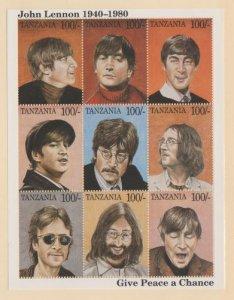 Tanzania Scott #1335 Stamps - Mint NH Souvenir Sheet
