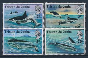 [27127] Tristan da Cunha 1975 Marine Life Whales Dolphin MNH