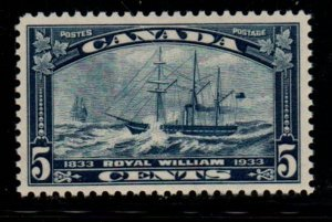 Canada Sc 204 1933 5c Steamship Royal William stamp mint NH