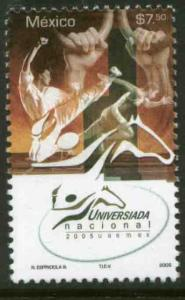 MEXICO 2440, National University Games. MINT, NH. F-VF.