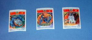 Russia - 4849 - 51, MNH Set...Space Training. SCV - $1.50