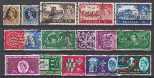 GREAT BRITAIN ^^^^^sc# 306//309  used  collection  $41.40@ lar 639gb9