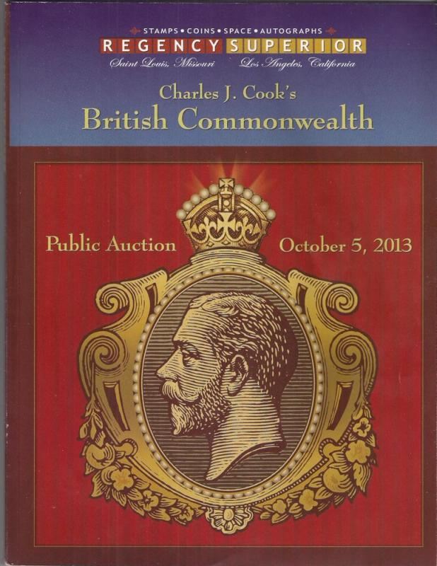 REGENCY auction Charles J Cook British Commonwealth variety