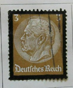 A6P29F160 Germany 1934 3pf used