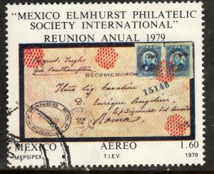 MEXICO C605 Mepsipex79 International Exhibition USED. F-VF. (700)