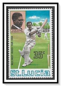 St Lucia #230 Cricket Club MNH