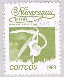 Nicaragua Flower 100 - pickastamp (AP107928)