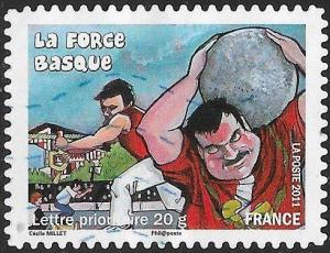 France 4024 Used - ‭‭Regional Festivals & Traditions - ‭La Force Basque