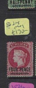 ST HELENA  (P0705BB)  QV  1D       SG 24    MOG